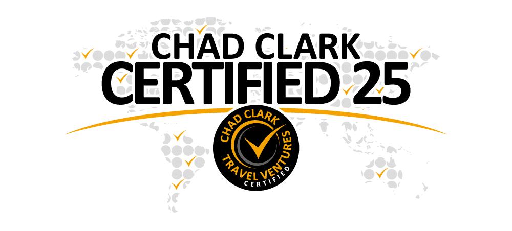 Chad Clark Certified 25 Winner