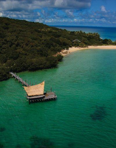 haggerstone island aerial jetty